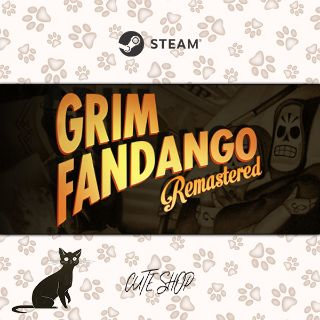 🔑Grim Fandango Remastered [SteamKey\RegionFree\InstantDelivery]