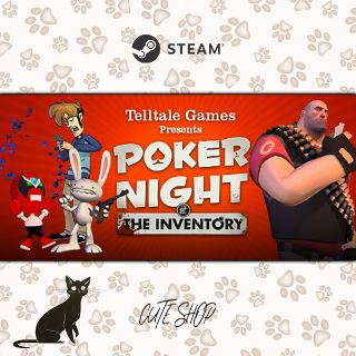 🔑Poker Night at the Inventory [SteamKey\RegionFree\InstantDelivery]
