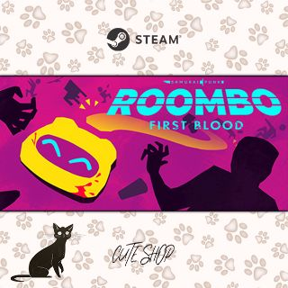 🔑Roombo: First Blood (Justice Sucks) [SteamKey\RegionFree\InstantDelivery]