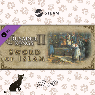 🔑Expansion - Crusader Kings II: Sword of Islam [SteamKey\RegionFree\InstantDelivery]