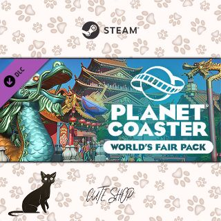 🔑Planet Coaster - World's Fair Pack [SteamKey\RegionFree\InstantDelivery]