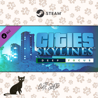 🔑Cities: Skylines - Deep Focus Radio [SteamKey\RegionFree\InstantDelivery]