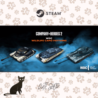 🔑Company of Heroes 2 - Whale and Dolphin Conservation Charity Pattern Pack [SteamKey\RegionFree\InstantDelivery]