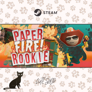 🔑PAPER FIRE ROOKIE (Formerly Paperville Panic) [SteamKey\RegionFree\InstantDelivery]