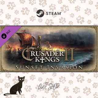 🔑Expansion - Crusader Kings II: Sunset Invasion [SteamKey\RegionFree\InstantDelivery]