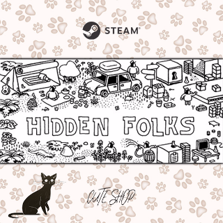 🔑Hidden Folks [SteamKey\RegionFree\InstantDelivery]