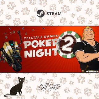 🔑Poker Night 2 [SteamKey\RegionFree\InstantDelivery]