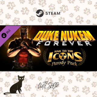 🔑Duke Nukem Forever: Hail to the Icons Parody Pack [SteamKey\RegionFree\InstantDelivery]