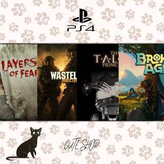 🔑Layers of Fear, Wasteland 2: Director's Cut - Standard Edition, The Talos Principle, Broken Age [PS4\InstantDelivery]