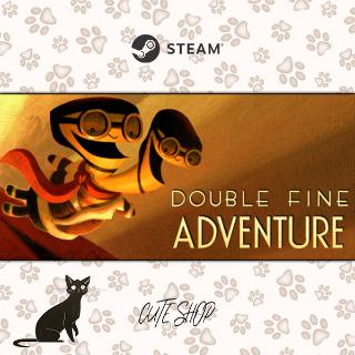 🔑Double Fine Adventure [SteamKey\RegionFree\InstantDelivery]
