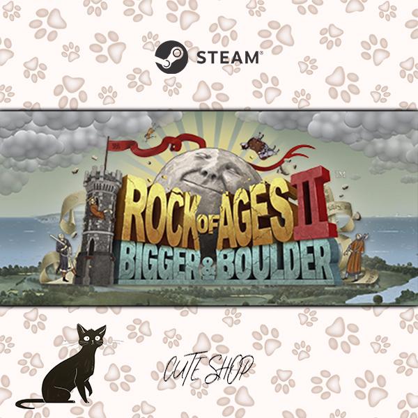 🔑Rock of Ages 2: Bigger & Boulder [SteamKey\RegionFree\InstantDelivery]
