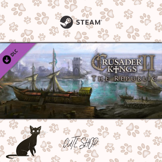 🔑Expansion - Crusader Kings II: The Republic [SteamKey\RegionFree\InstantDelivery]