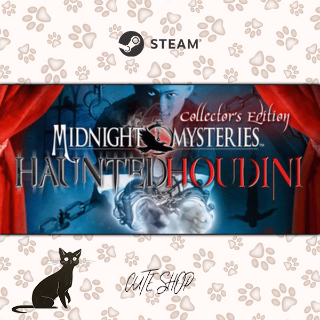 🔑Midnight Mysteries 4: Haunted Houdini [SteamKey\RegionFree\InstantDelivery]
