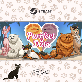 🔑Purrfect Date - Visual Novel/Dating Simulator [SteamKey\RegionFree\InstantDelivery]