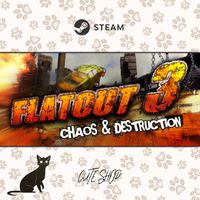 🔑Flatout 3: Chaos & Destruction [SteamKey\RegionFree\InstantDelivery]