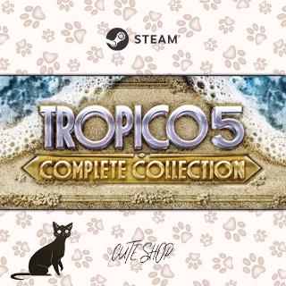 🔑Tropico 5 - Complete Collection [SteamKey\RegionFree\InstantDelivery]