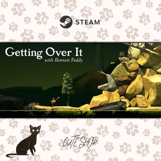 🔑Getting Over It with Bennett Foddy [SteamKey\RegionFree\InstantDelivery]