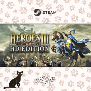 🔑Heroes of Might & (and) Magic III - HD Edition [SteamKey\RegionFree\InstantDelivery]
