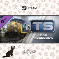 🔑Train Simulator: CSX AC6000CW Loco Add-On [SteamKey\RegionFree\InstantDelivery]