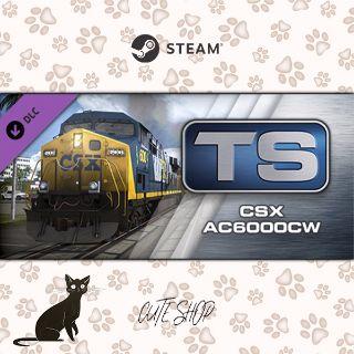 🔑Train Simulator: CSX AC6000CW Loco Add-On [SteamKey\RegionFree\InstantDelivery]