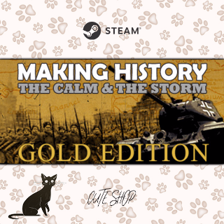 🔑Making History: The Calm and the Storm Gold Edition [SteamKey\RegionFree\InstantDelivery]