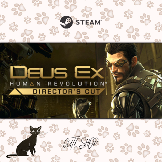🔑Deus Ex: Human Revolution - Director's Cut [SteamKey\RegionFree\InstantDelivery]