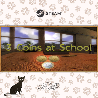 🔑3 Coins At School [SteamKey\RegionFree\InstantDelivery]