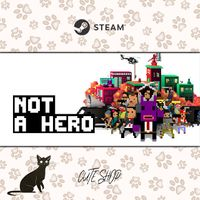 🔑NOT A HERO [SteamKey\RegionFree\InstantDelivery]