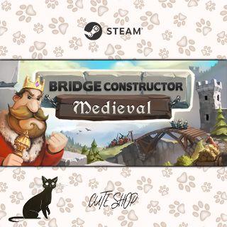 🔑Bridge Constructor Medieval [SteamKey\RegionFree\InstantDelivery]