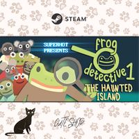 🔑The Haunted Island, a Frog Detective Game [SteamKey\RegionFree\InstantDelivery]