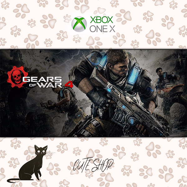 Gears of War 4 [Microsoft Xbox One\RegionFree\InstantDelivery]