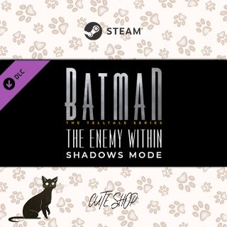 🔑Batman - The Enemy Within Shadows Mode [SteamKey\RegionFree\InstantDelivery]