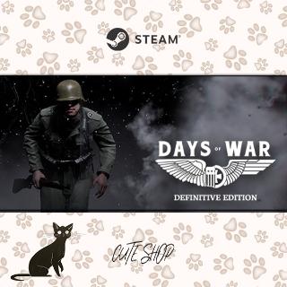 🔑Days of War: Definitive Edition [SteamKey\RegionFree\InstantDelivery]