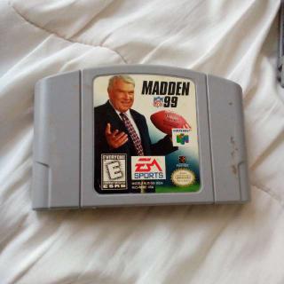 N64 Madden 99