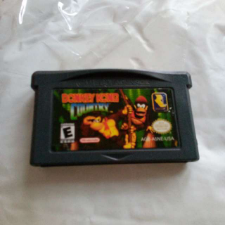 Gameboy Advance Donkey Kong Country