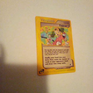 Copycat 138/165 Pokemon Card