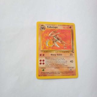 Kabutops 24/62 Pokemon Card