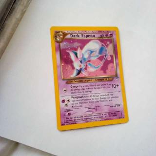 Holo Dark Espeon 4/105 Pokemon Card
