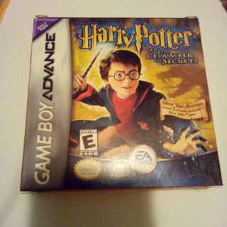 Gameboy Advance Harry Potter And The Chamber Of Secrets Box And Manual