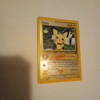Holo Pichu Black Star Promo Pokemon Card