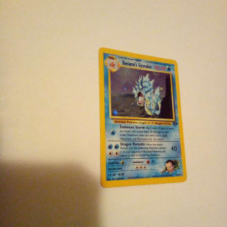 Holo Giovanni's Gyarados 5/132 Pokemon Card