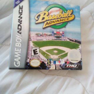 Gameboy Advance Baseball Advance Box And Manual