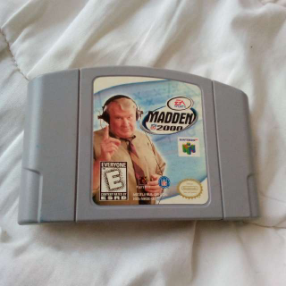 N64 Madden 2000