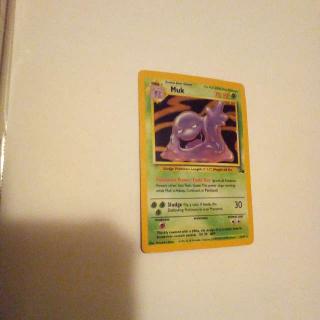 Holo Muk 13/62 Pokemon Card