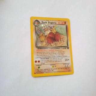 Holo Dark Dugtrio 6/82 Pokemon Card