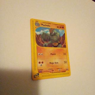 Machoke 85/165 Pokemon Card
