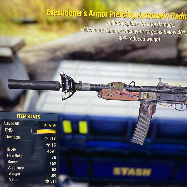 Weapon | Executioners Explosive Radium Rifle