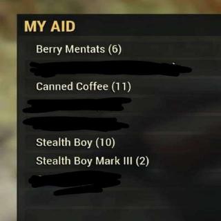 Aid | 29x PVP Aid Items