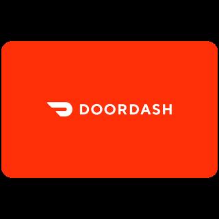 $25.00 US DoorDash, Instant Delivery