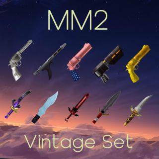Weapon   Mm2 x95 vintage sets